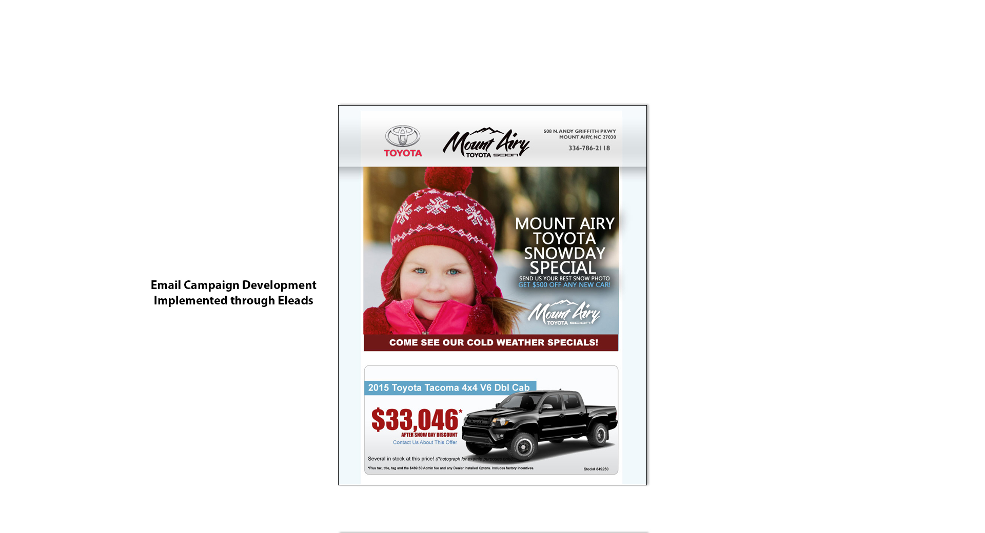 Mount Airy Email Marketing