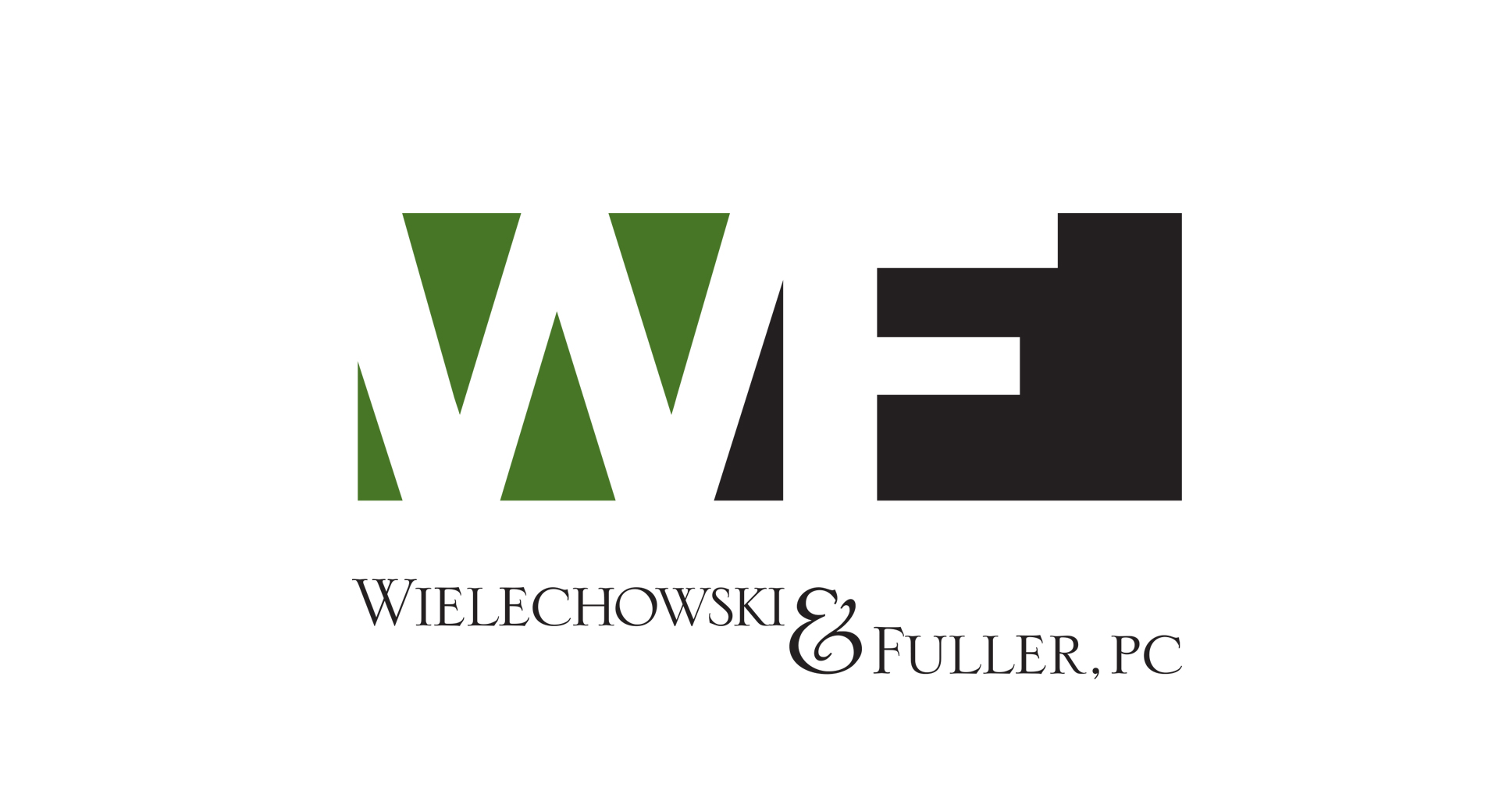Wielechowski & Fuller Law Firm - Logo Design by CCP Web Design